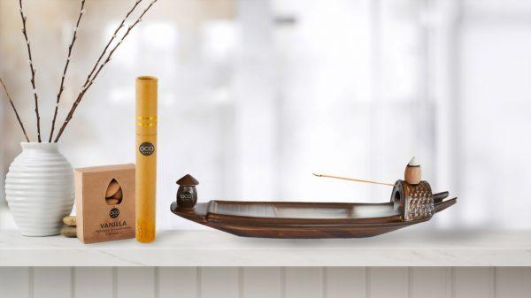 ceramic boat burner